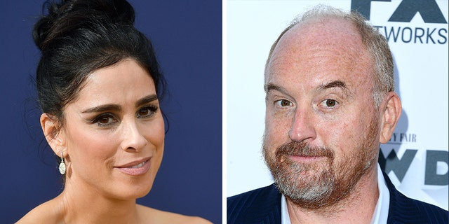 Sarah Silverman and fellow comedian Louis C.K. are longtime friends.