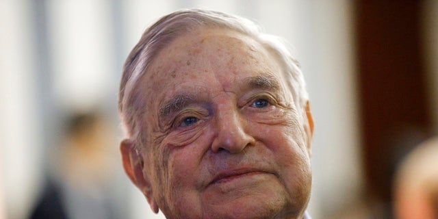 FILE - In this May 29, 2018, file photo, philanthropist George Soros, founder and chairman of the Open Society Foundations, attends the European Council On Foreign Relations Annual Meeting in Paris. (Associated Press)