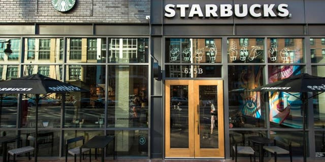 Starbucks has opened their first signing cafe in America.