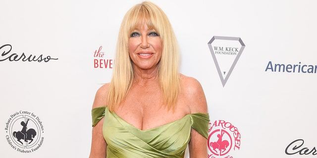 Suzanne Somers is determined to share her message with fans.