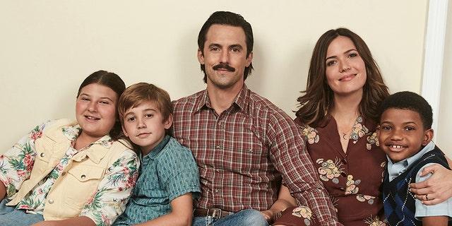 Mackenzie Hancsicsak as Kate, Parker Bates as Kevin, Milo Ventimiglia as Jack, Mandy Moore as Rebecca, Lonnie Chavis as Randall.
