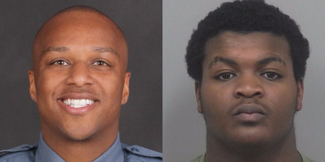 2 suspects charged in Georgia officer's slaying