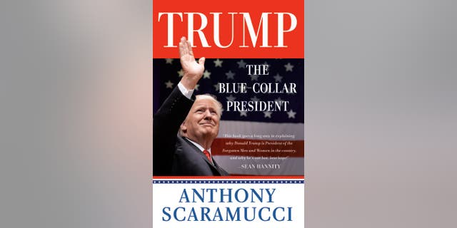 The Blue Collar President book cover