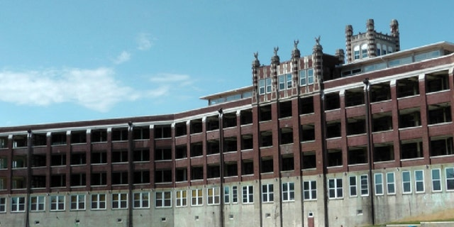 The Waverly Hills Sanatorium in Louisville, Ky., is pictured on Monday, Oct. 21, 2013. The vacant building has become an attraction for ghost hunters and paranormal enthusiasts, who insist the building is haunted by former patients.