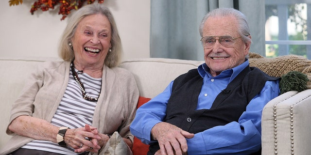 William Daniels and his wife, actress Bonnie Bartlett, were almost the victims of a burglary over the weekend.