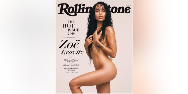 Zoe Kravitz recreated her mom's iconic nude Rolling Stone photo shoot.
