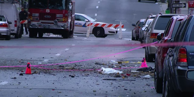"""ATF Special Agent in Charge Don Robinson said that it was a """"grisly scene"""" after the blast."""