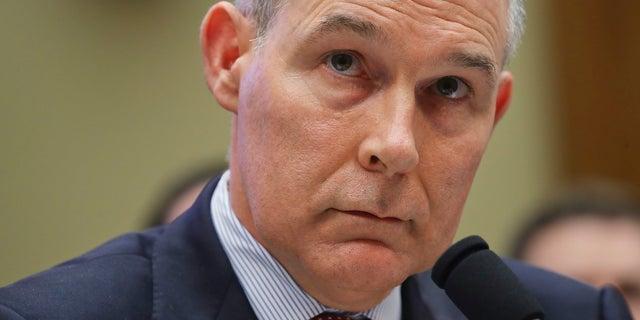 President Trump announced EPA chief Scott Pruitt had resigned on July 5.