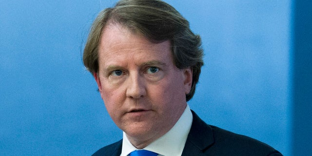 President Trump said his White House counsel, Don McGahn, will be departing in the fall after the Senate confirmation vote for Judge Brett Kavanaugh to serve on the Supreme Court.