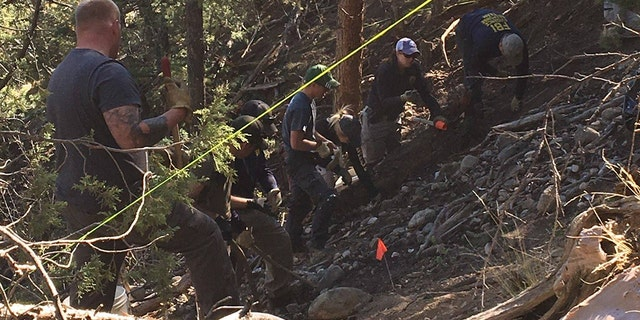 The set of remains believed to belong to Beverly England were recovered after a five-day search effort.