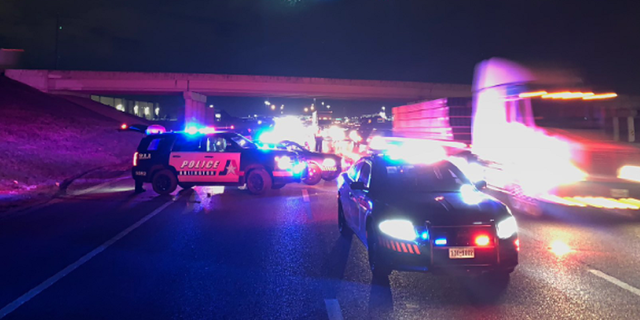 A road rage victim survived being shot in front of his family, police in Arlington, Texas, say.