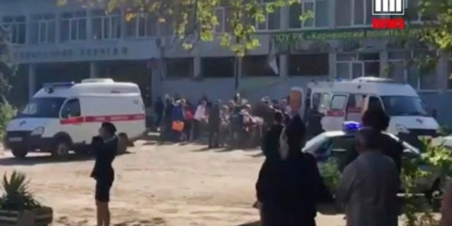 At least 17 people were killed and 40 others were injured on Wednesday at a vocational college in Crimea.