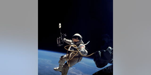 Ed White became the first American to take a spacewalk on June 3, 1965.