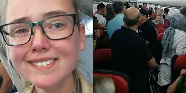 Elin Ersson refused to take her seat on a plan until an Afghan migrant was taken off the flight.