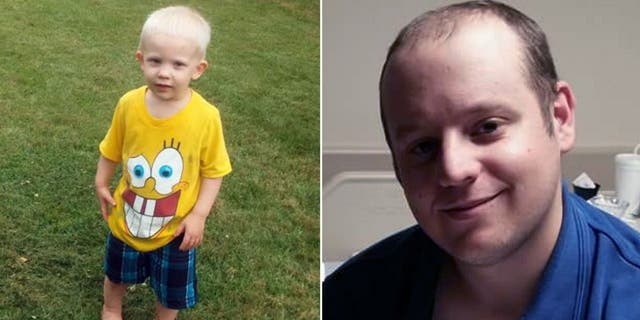 Two-year-old Jonathan Schmoyer and father Jacob Schmoyer were killed in Saturday night's explosion, which is being investigated as a murder-suicide.