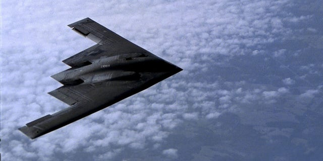 The B-2 Spirit is a multi-role bomber capable of delivering both conventional and nuclear munitions. (U.S. Air Force photo by Gary Ell)