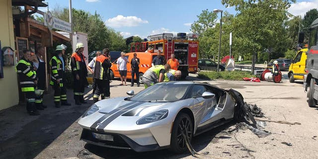 Ford Is Recalling  Of Its Gt Supercars In North America To Fix A Problem That Can Cause A Hydraulic Fluid Leak After One Of The  Cars Was Badly