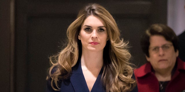 The White House Communications Director, Hope Hicks, a longtime Trump Eliminated Associate.