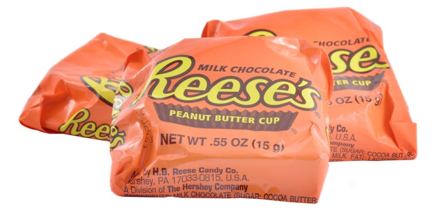 Reese's Peanut Butter Cups are preferred by the majority of Americans polled with more than 36 percent rating the sweet-and-salty treat as their favorite.