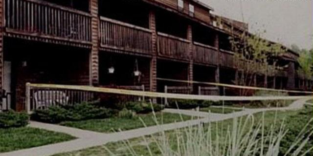 Crime Scene where Jenny Zitricki was killed in Greenville, S.C., in 1990.