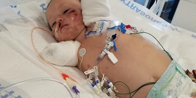 Jeremiah, whose youngest sibling was born while he battled for his life, does not have a timetable for release.