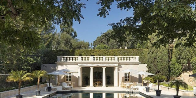 The sprawling, 25,000-square-foot, Sumner Spaulding-designed mansion dates to the 1930s.