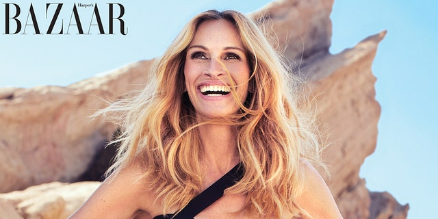 Julia Roberts covers Harper's Bazaar's November issue.