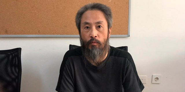 Jumpei Yasuda returned to Japan on Thursday, Oct. 26, 2018.