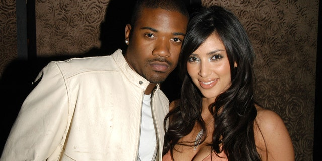 Ray J and Kim Kardashian attend Charlotte Ronson Fall/Winter 2006 Collection at Library Bar on March 22, 2006.