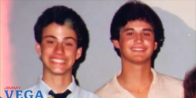 Jimmy Kimmel and his old friend Jimmy Vega.