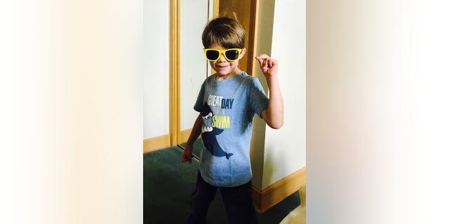 Luke Morin, 5, died of DIPG on April 25.
