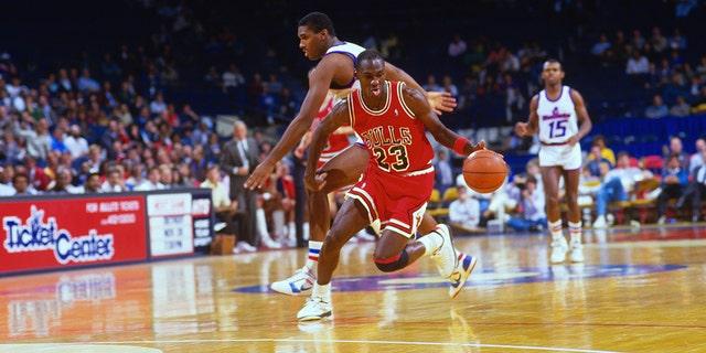 A Michael Jordan fan got his famous number 23 jersey tattooed across his entire upper body.