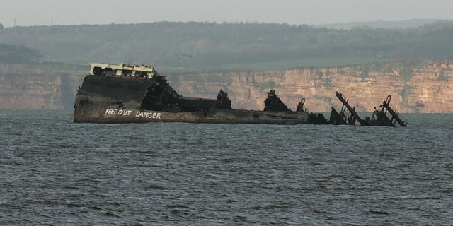 The ship was dismantled by salvage crews and much of it was already removed by 2008.