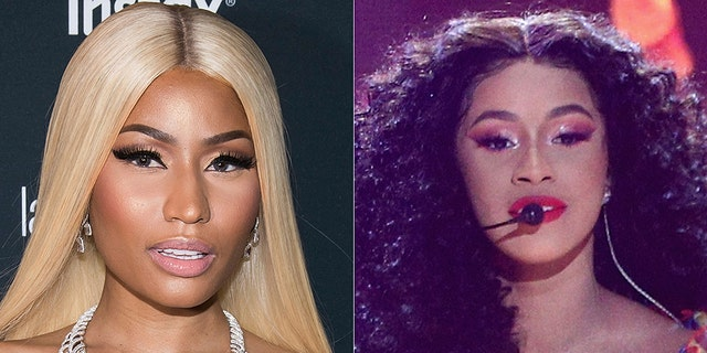 Nicki Minaj and Cardi B feuded over a war of words on social media.