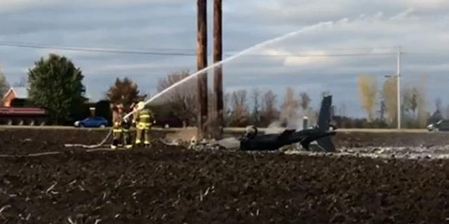 Two utility workers were killed when a helicopter crashed Tuesday afternoon in upstate New York.