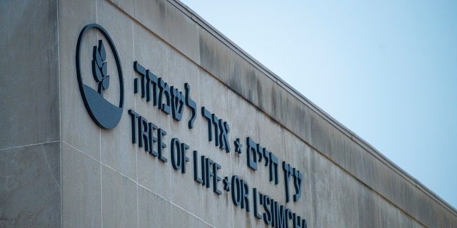 The Tree of Life Congregation where a deadly shooting took place on Saturday, Oct. 27, 2018, in the Squirrel Hill section of Pittsburgh.