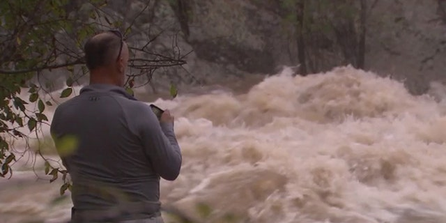 Recent rains have left the Potomac River above flood stage and led to the closure of several popular nature trails.