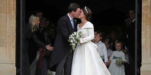 Princess Eugenie of York and Jack Brooksbank got married on Friday, Oct. 12, 2018.