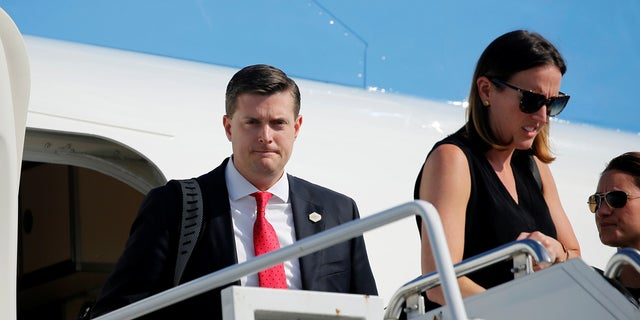 White House staff secretary Rob Porter resigned from office following reports that he abused his ex-wives. He denied the allegations.
