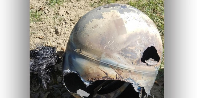 TheKings County Sheriff's Office identified the space debris roughly a week after it made its landing onto a California ranch.