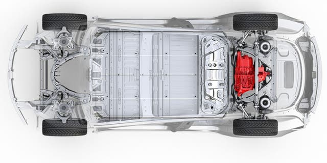 The $46,000 Model 3 features a lower-capacity battery pack than the long-range version and rear-wheel-drive