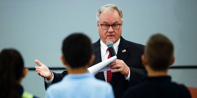 Republican Scott Wagner is running against Gov. Tom Wolf in November.