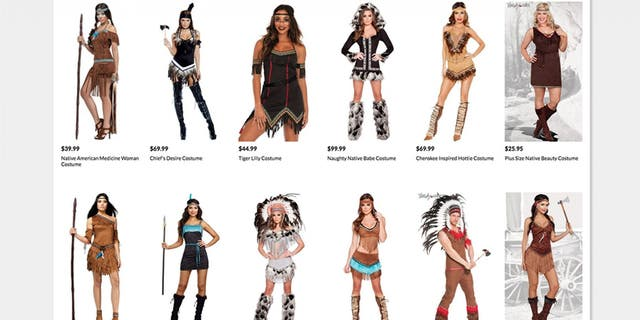 "Twitter users called the costumes ""offensive"" and ""racist."""