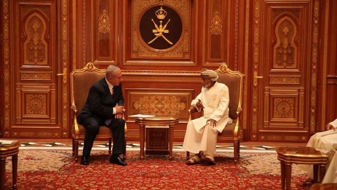 Israeli PM Netanyahu makes surprise trip to Oman – which has no diplomatic relations with Jewish state