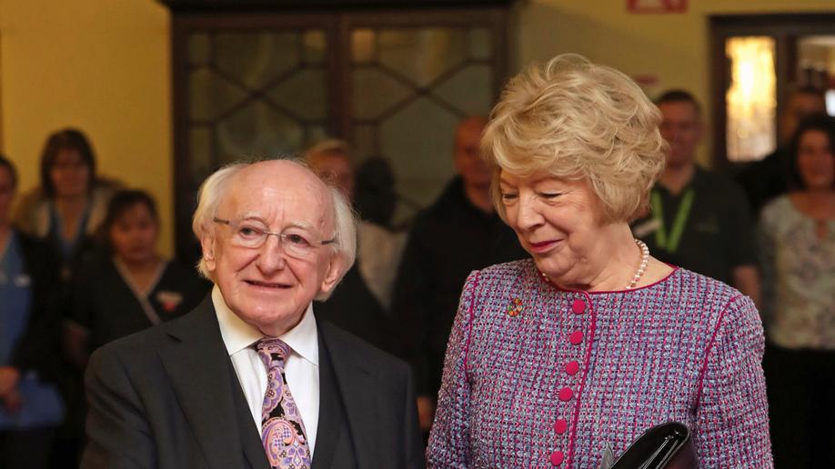 Michael D Higgins re-elected Irish President in landslide victory