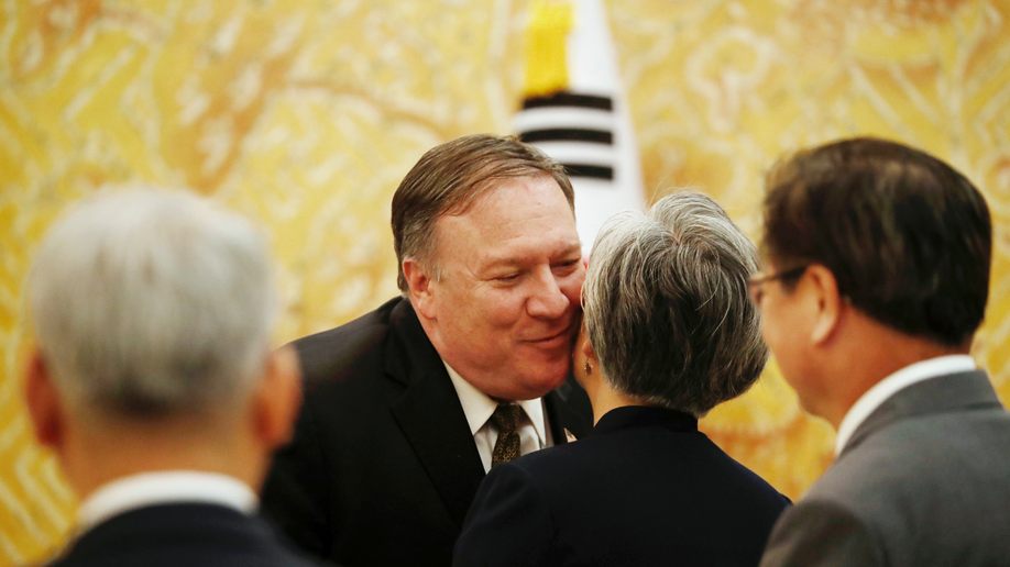 Secretary Pompeo: We have great concerns about China's actions, disagreements