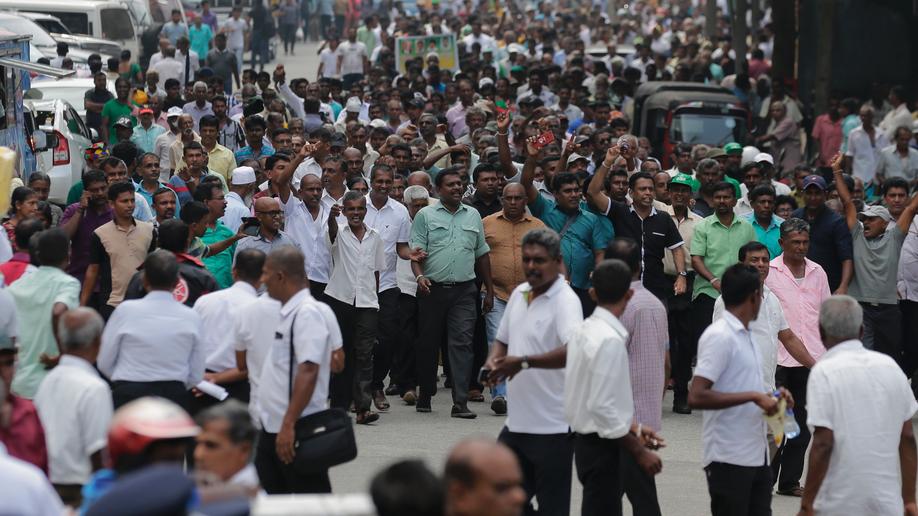 Sri Lanka's president suspends parliament, deepening crisis