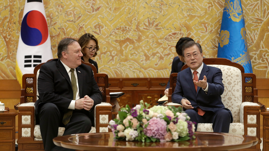 Pompeo, Chinese counterpart exchange criticism during meeting in Beijing