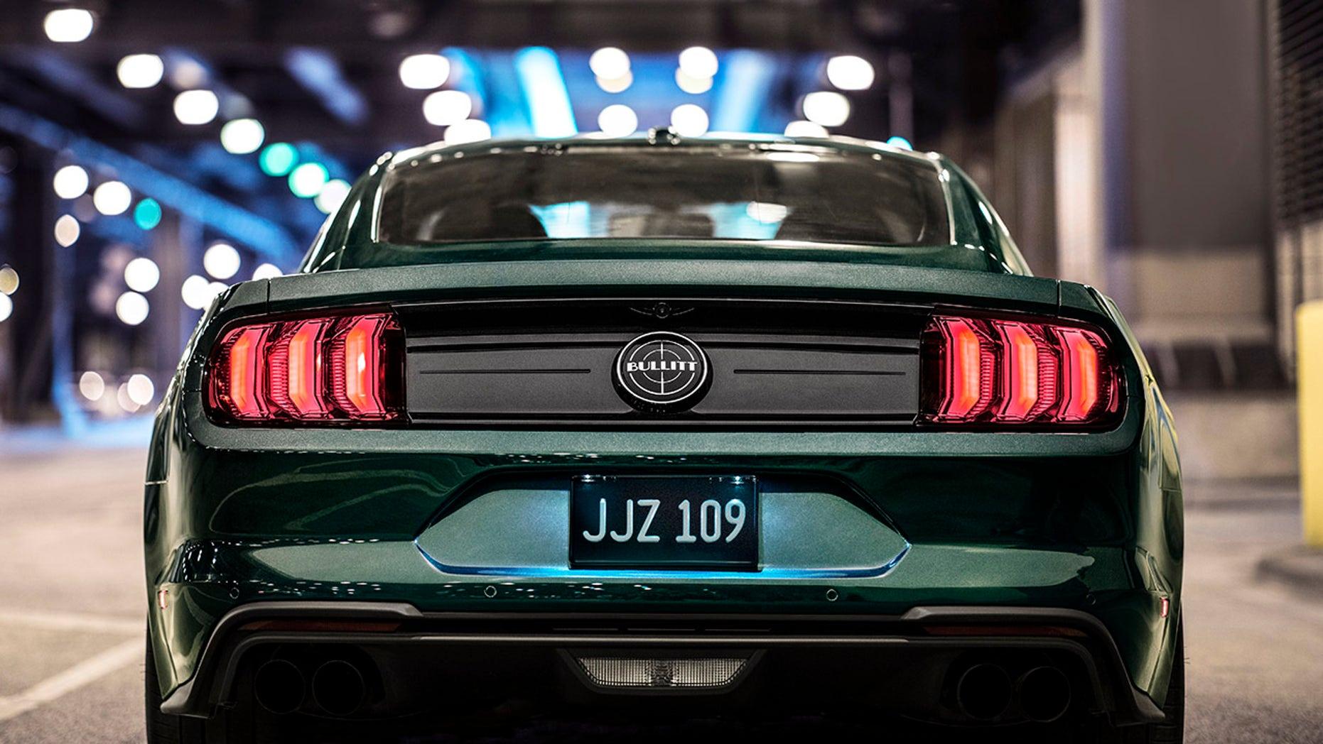 2019 Bullitt Ford Mustang GT Rear View