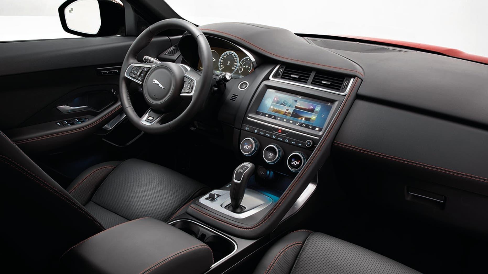 2018 Jaguar E-Pace Interior